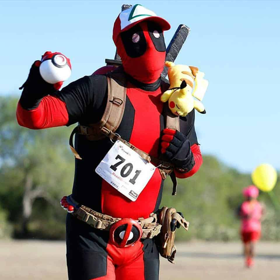 TOO DEADPOOL Featured Cosplayer Contest Host  Texas Music Helps